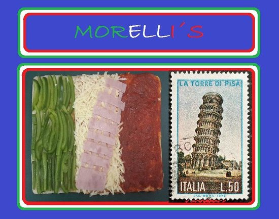 Morelli's Pizza por Metro : Morellis.....