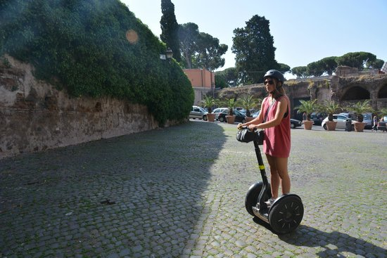 Rome by Segway : behind the scenes