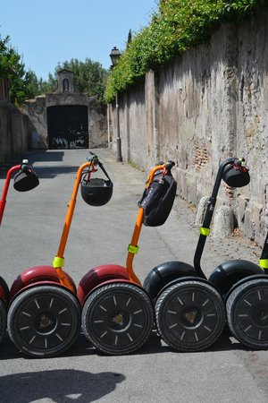 Rome by Segway : a blend of old and new!