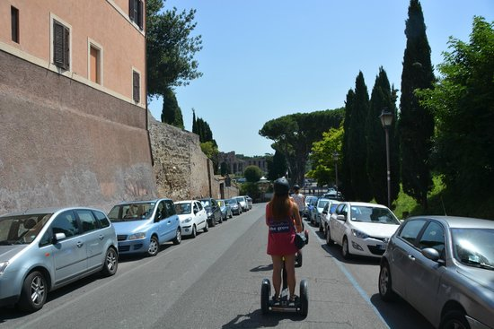 Rome by Segway : on the way