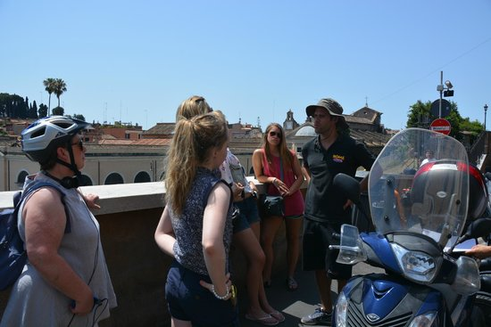 Rome by Segway : leatning a few facts