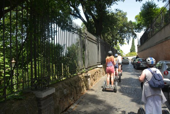 Rome by Segway : zipping along