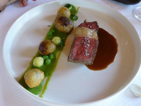 Hotel Restaurant Frankenbourg: Le boeuf Hereford