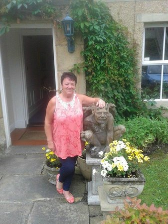 Hedgefield House Hotel: me and my mum enjoyed it ,so i  put picture of joan brisco, maded us feel welcome was lovely, xx