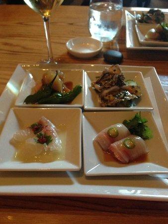 Nobu: Sashimi & Oysters