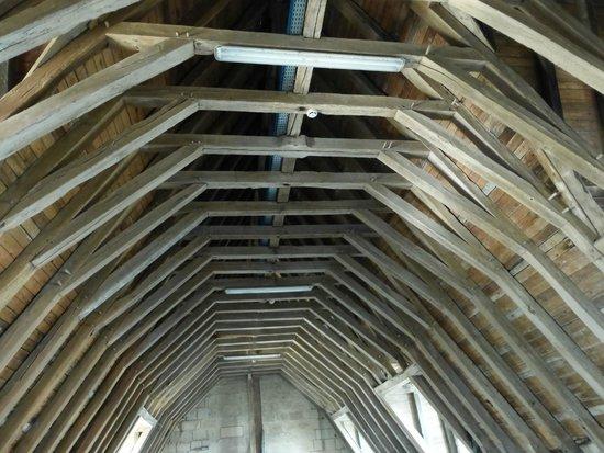 Chateau de Montsoreau : La charpente du château