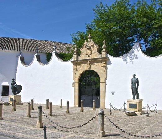 Plaza de toros de Ronda: ENTRANCE