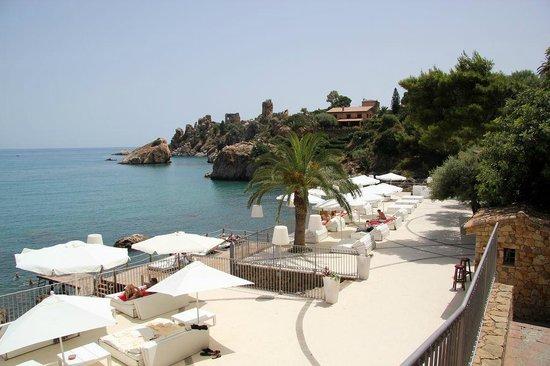 Hotel Le Calette: Le ponton, accès mer, bar