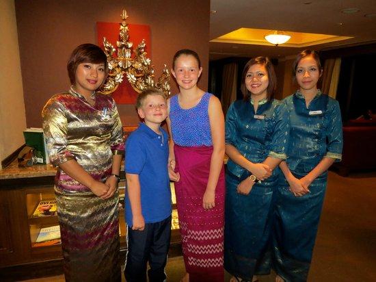 Sule Shangri-La Yangon : The Warm and Friendly Staff
