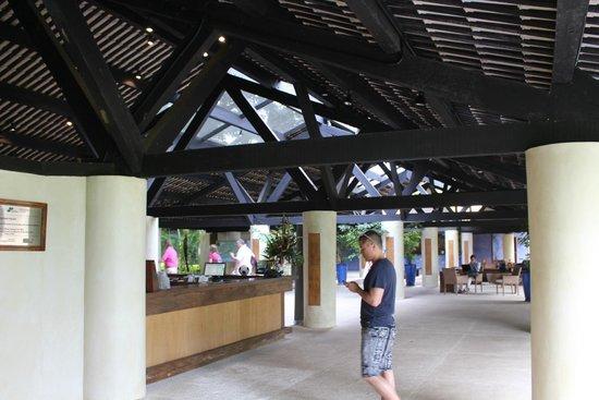 Tivoli Ecoresort Praia do Forte: Rezeptiosnbereich