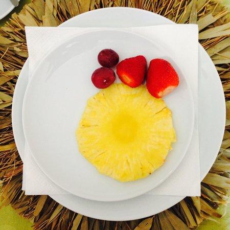Casa das Campainhas: fresh fruit at last