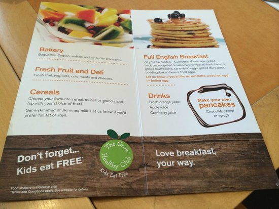 Holiday Inn London - Heathrow Ariel : Breakfast - food options
