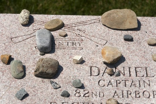 West Point Tours: Stones on Graves