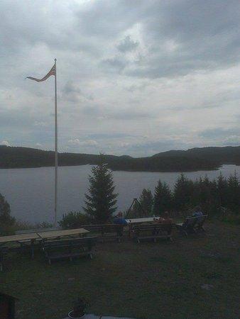 Nordmarka : Beautiful view from Kikut.