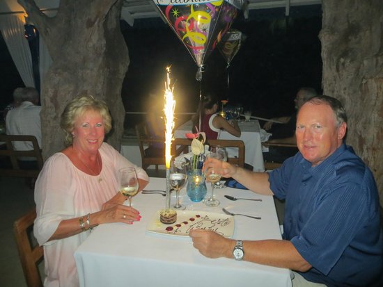 The Tides : Our Anniversary dinner