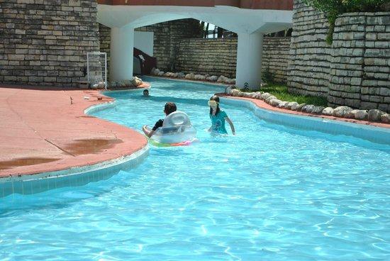 Otium Hotel Seven Seas : lazy river