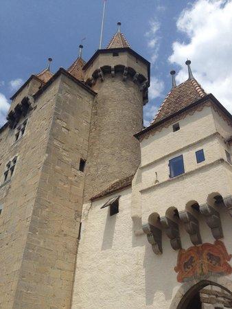Aigle Castle: Commanding!