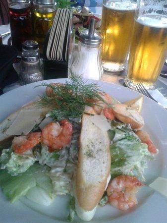 Matylda restaurant: Caesar salad