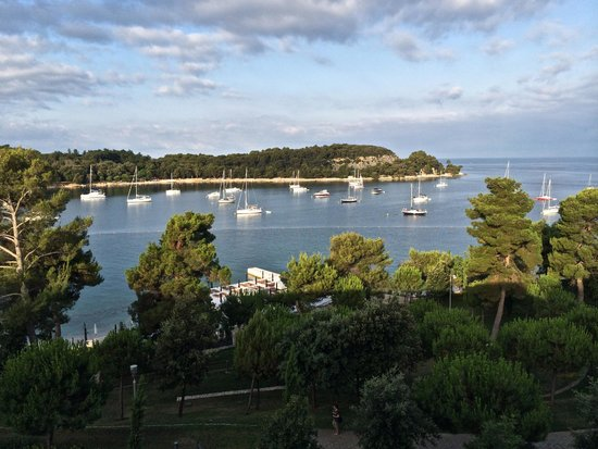 Hotel Monte Mulini: view from the room