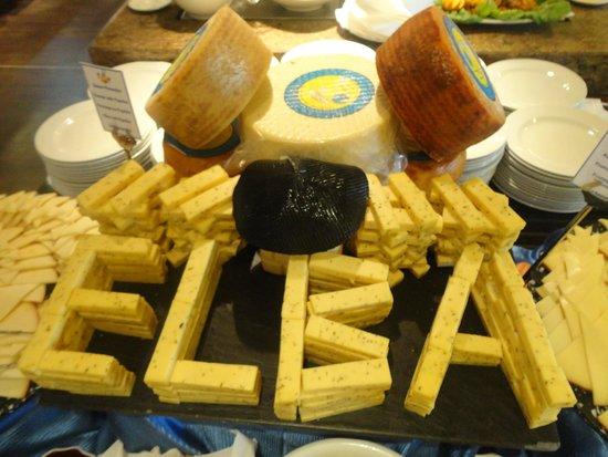 Hotel Elba Carlota : Cheese night