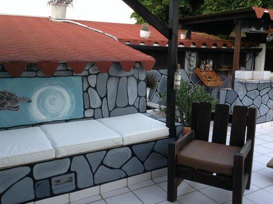 Posada Lagunita : Terrasse