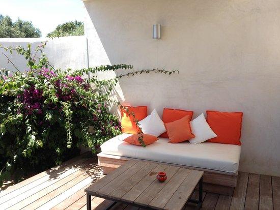 Hotel Cala Di Greco: Terrasse