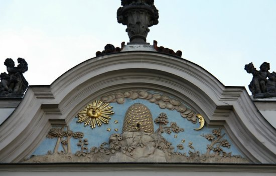 House At The Golden Beehive Rosicrucianism Symbols Picture Of