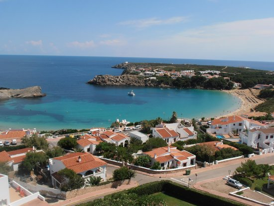 Fiesta Hotel Castell Playa: View from our balcony