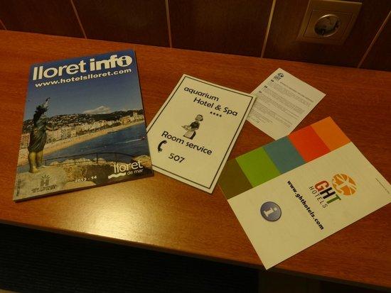 Hotel GHT Aquarium & SPA: Room 323