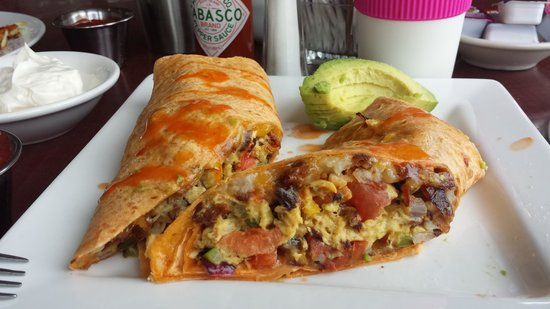 Shilo Restaurant : Breakfast burrito, a must try!!!