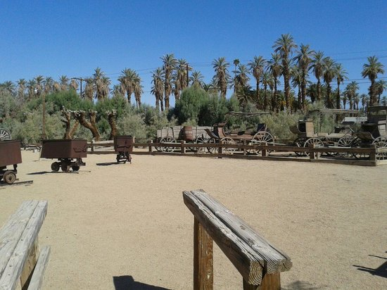 Furnace Creek Inn and Ranch Resort: The (incredibly hot) museum.