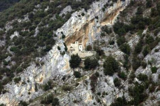 Foligno, Włochy: Eremo di santa maria giacobbe