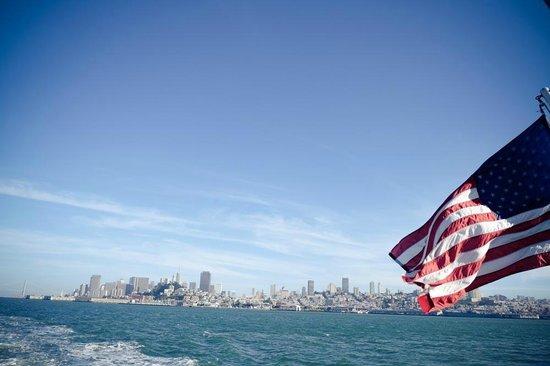 Île d'Alcatraz : On way to Alcatraz