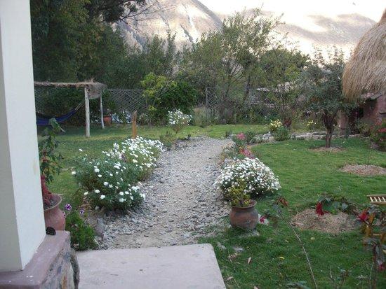 Apu Lodge: Front yard