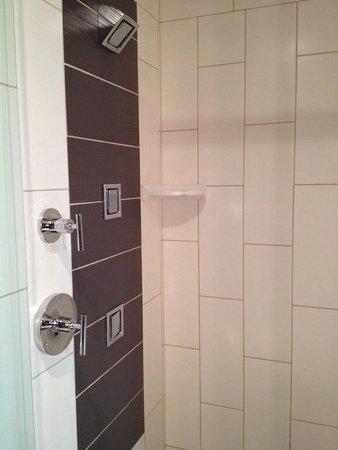 Tulalip Resort Casino : Resort King shower. Room 1215