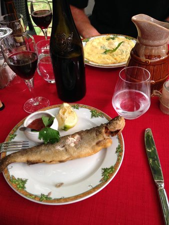 Auberge du Prunelli : The poisson (I highly recommend)