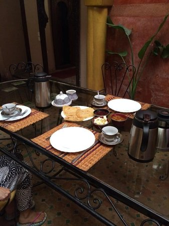 Riad Massin : Breakfast