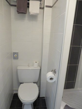 Hotel Eden : Toilet