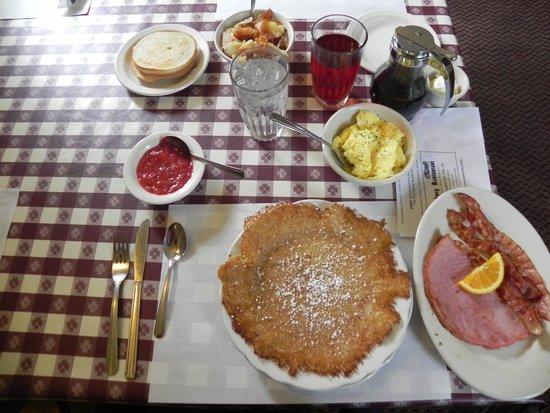 The Ronneburg Restaurant: meal