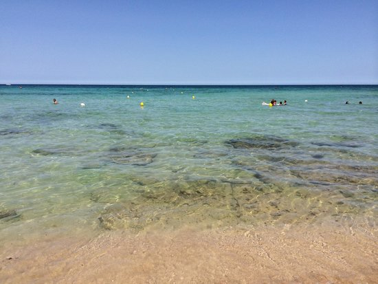 Masseria Torre Maizza: Sea at beach club