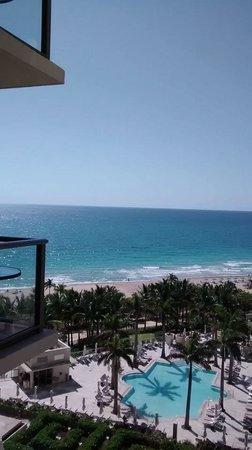 The St. Regis Bal Harbour Resort: ocean seen from room