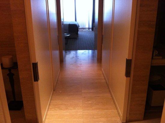 The St. Regis Bal Harbour Resort: room hallway
