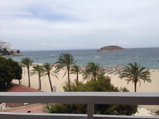 Sol Wave House Hotel: utsikt fra balkongen