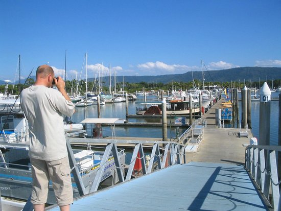 Yorkey's Knob Boat Club: Yachts at Yorkeys Knob boat club