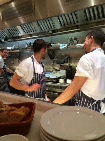 Bocca di Lupo : the chefs at work