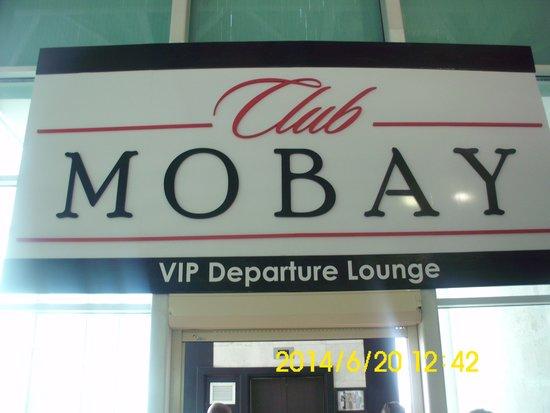 Club Mobay Departure Lounge: At the Door
