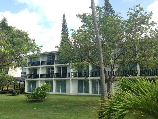 La Creole Beach Hotel: chambres vue extérieur
