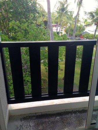 La Creole Beach Hotel: balcon chambre