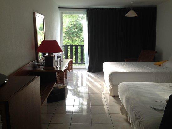 La Créole Beach Hôtel : chambre