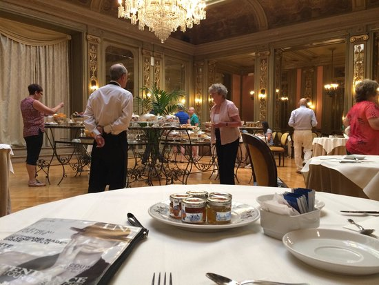 Grand Hotel et Des Palmes: Breakfast